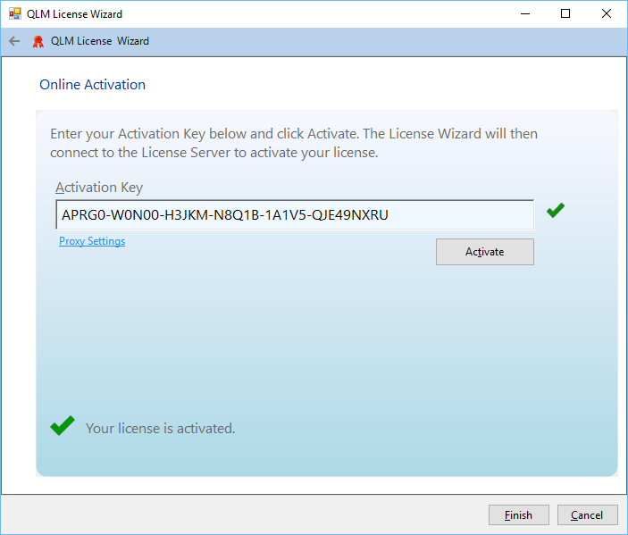 .NET Licensing using the QLM License Wizard Control for .NET WinForms