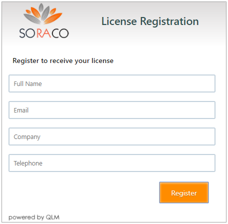 QLM Trial Registration Form