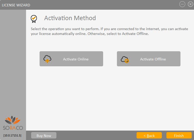 QLM License Wizard Activation Method
